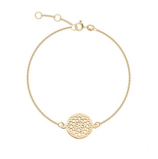 Chain bracelet with arabesque