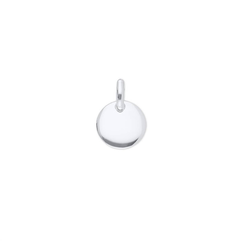 925 Silver little curved medal