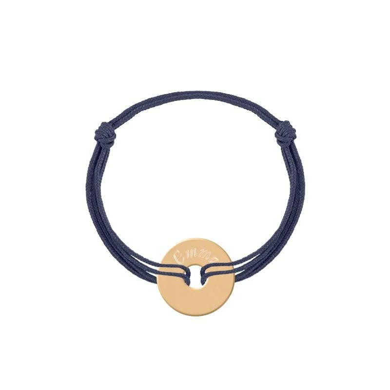 Tie bracelet with small target for children