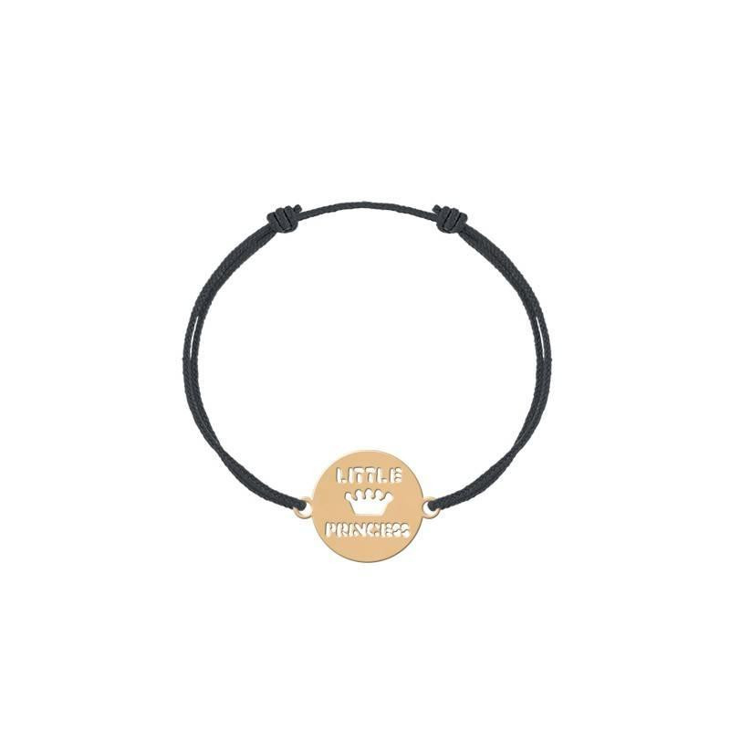 Bracelet cordon little princess pour enfant