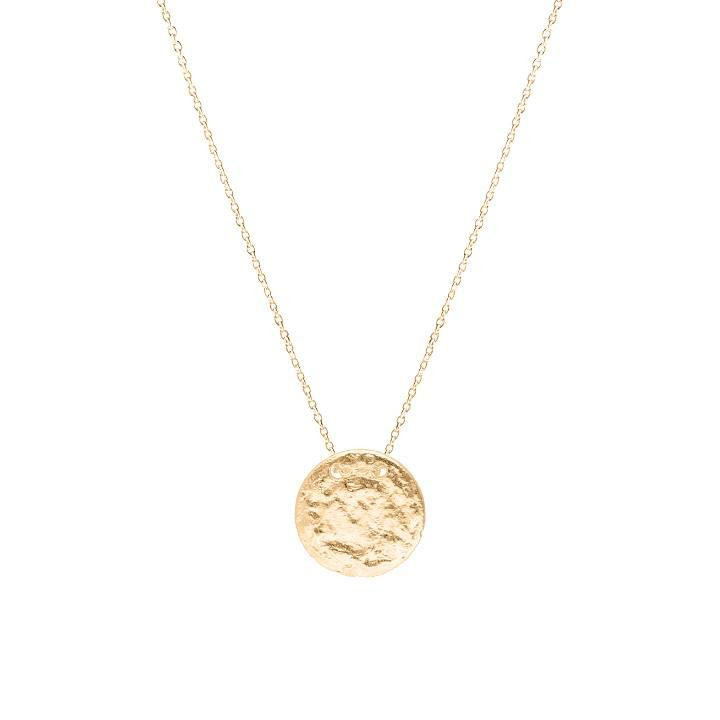 Gold-plated Leto chain necklace