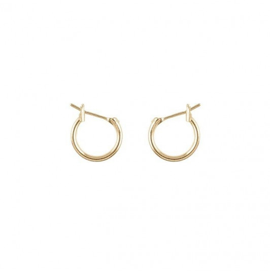 Hoop earrings with clasps 1.5 cm