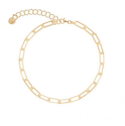 Chain bracelet with thick & large links