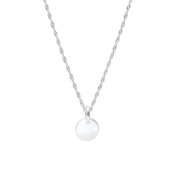 925 silver beaded chain necklace