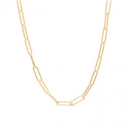 Chain necklace with large & thick links