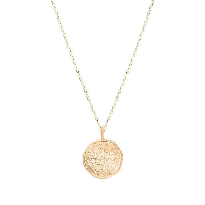 Gold-plated Naïa chain necklace