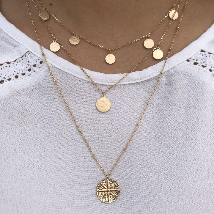 Gold-plated Hyana necklace