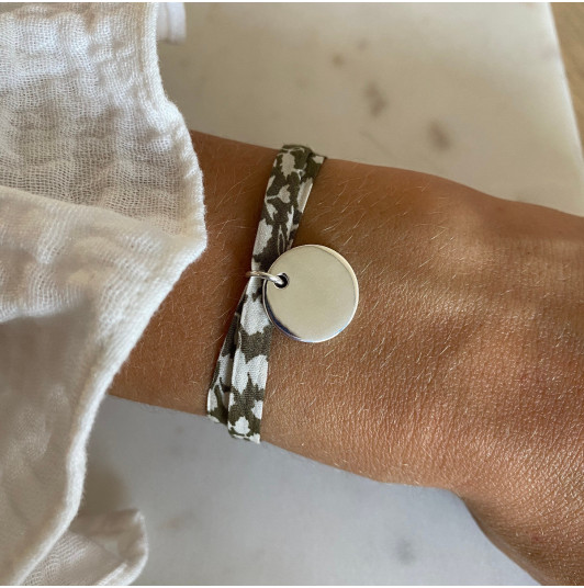 Liberty bracelet with medal