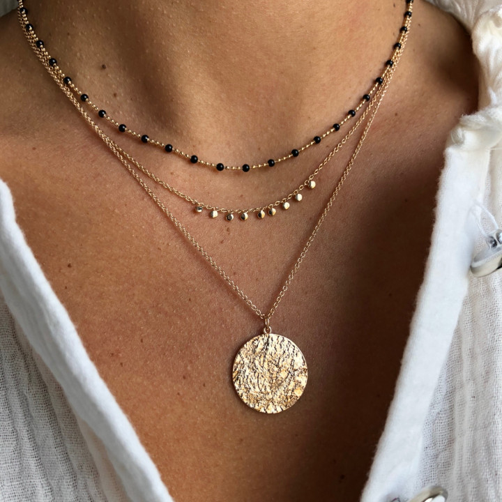 Gold-plated Ori necklace