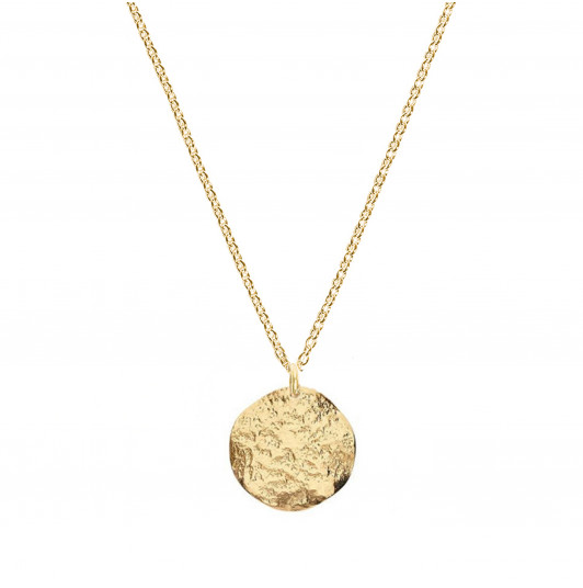 Small Atlas medal chain necklace