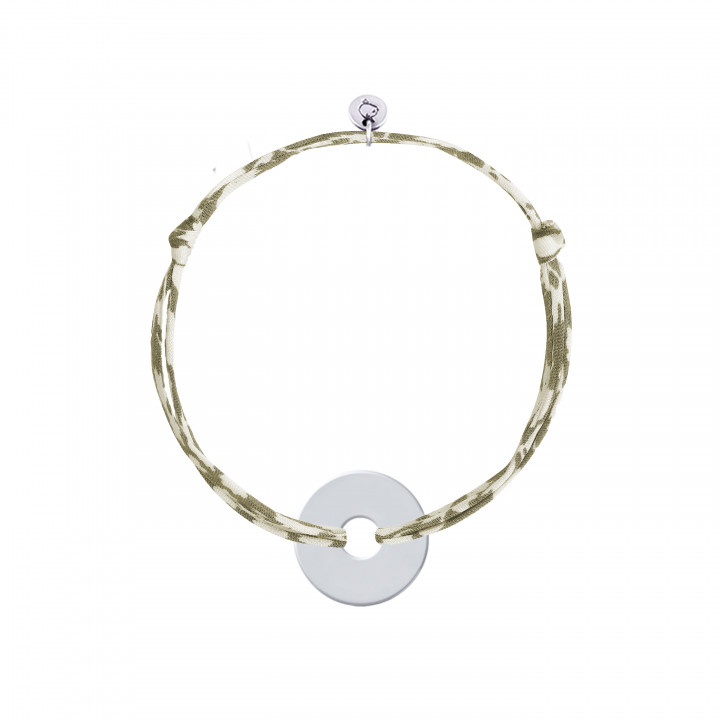 Liberty bracelet with 925 silver small target