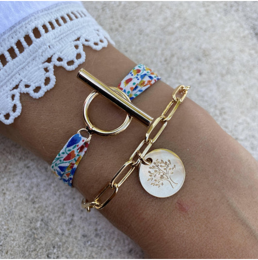 Duo liberty & grands maillons