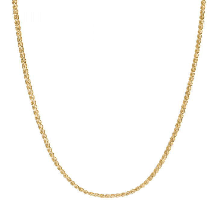 Gold-plated egyptian chain necklace