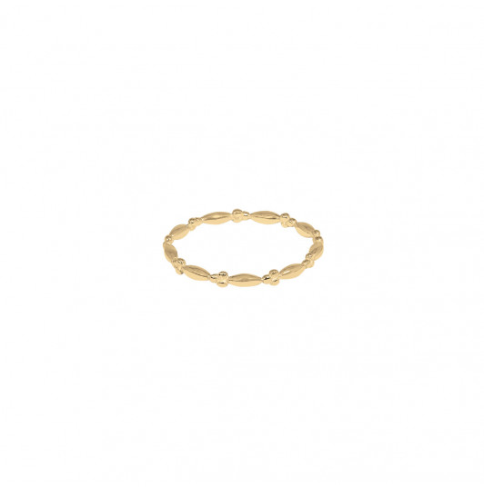 3 Small beads band ring
