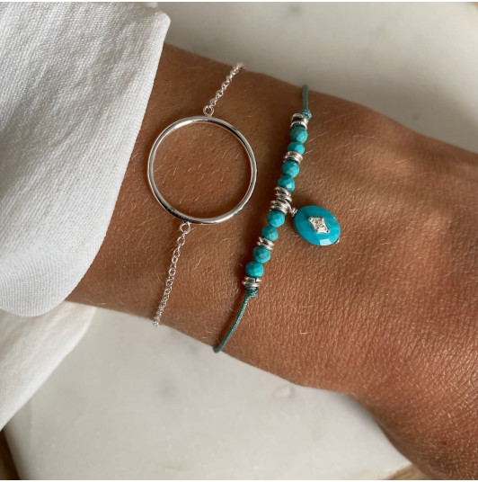 Duo anneau & Turquoise