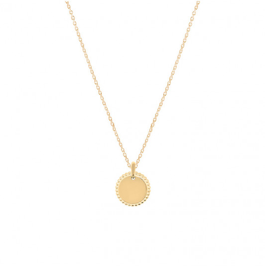 Chain necklace with small Solis medal