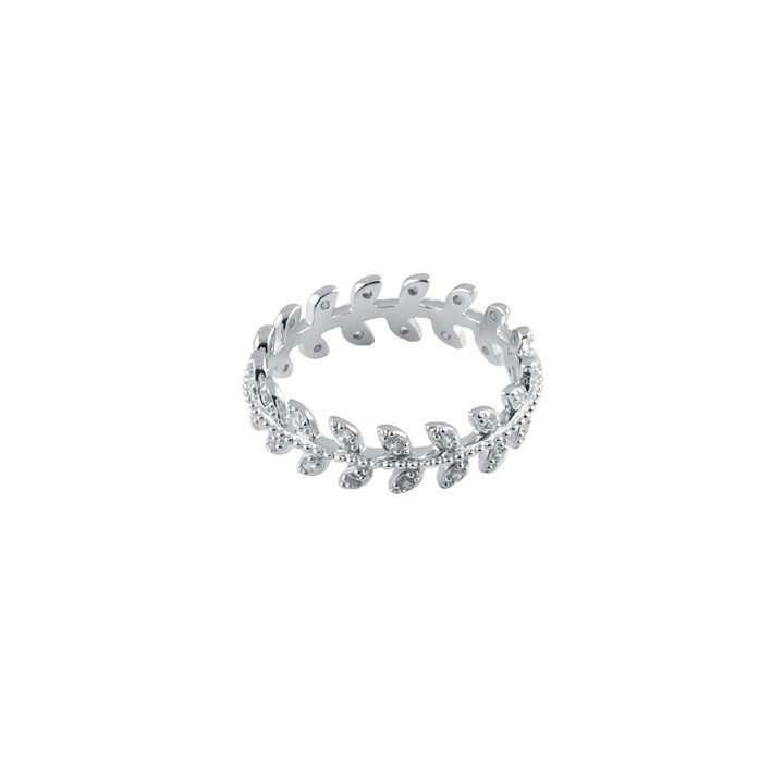Tie bracelet with silver cuffs for men