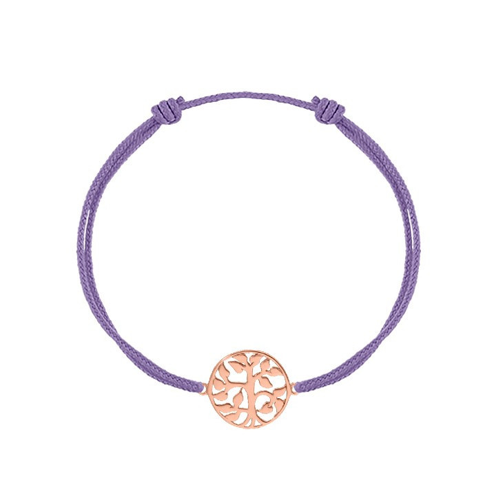 Tie bracelet with little star for children