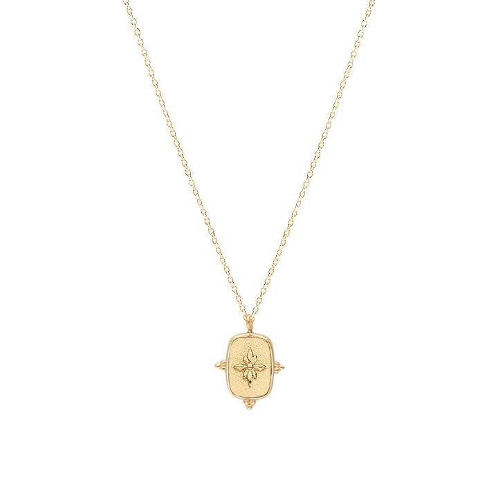 Gold-plated Calyce chain necklace