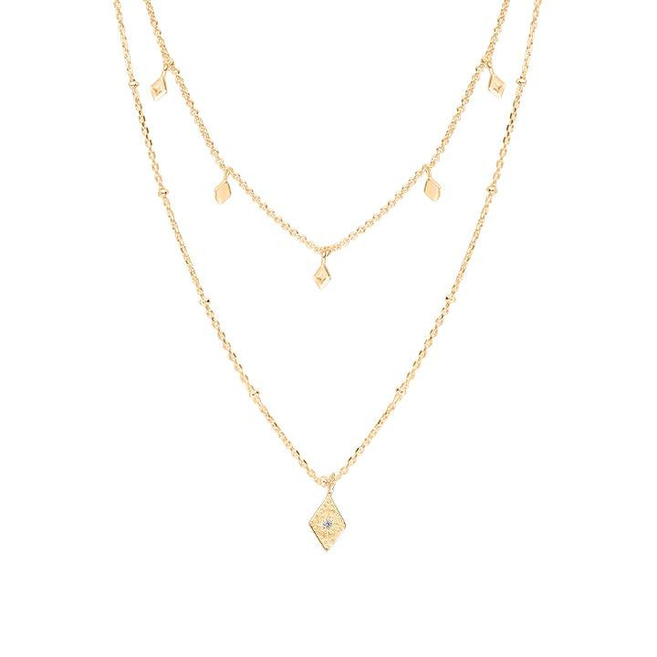 collier gourmette 2mm 2,5mm 2,8mm 3,6mm largeur or-double 10//000 avec tampon