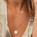 Gold-plated Alya necklace