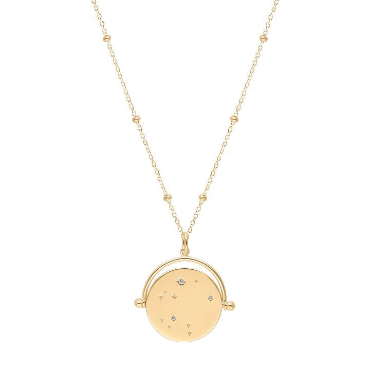 Gold-plated Celestial necklace