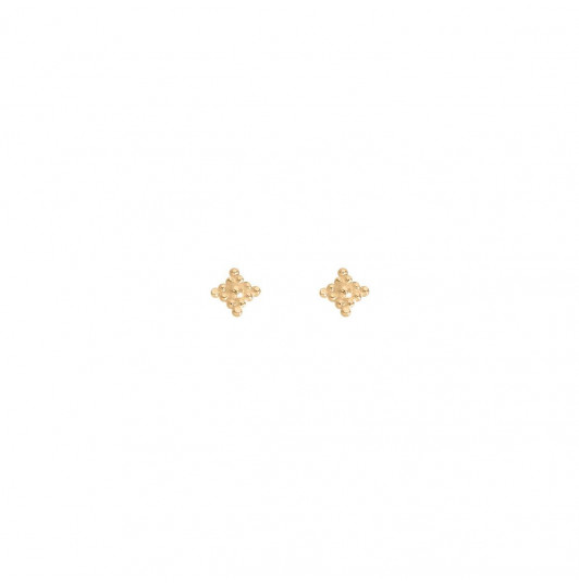Horae stud earrings