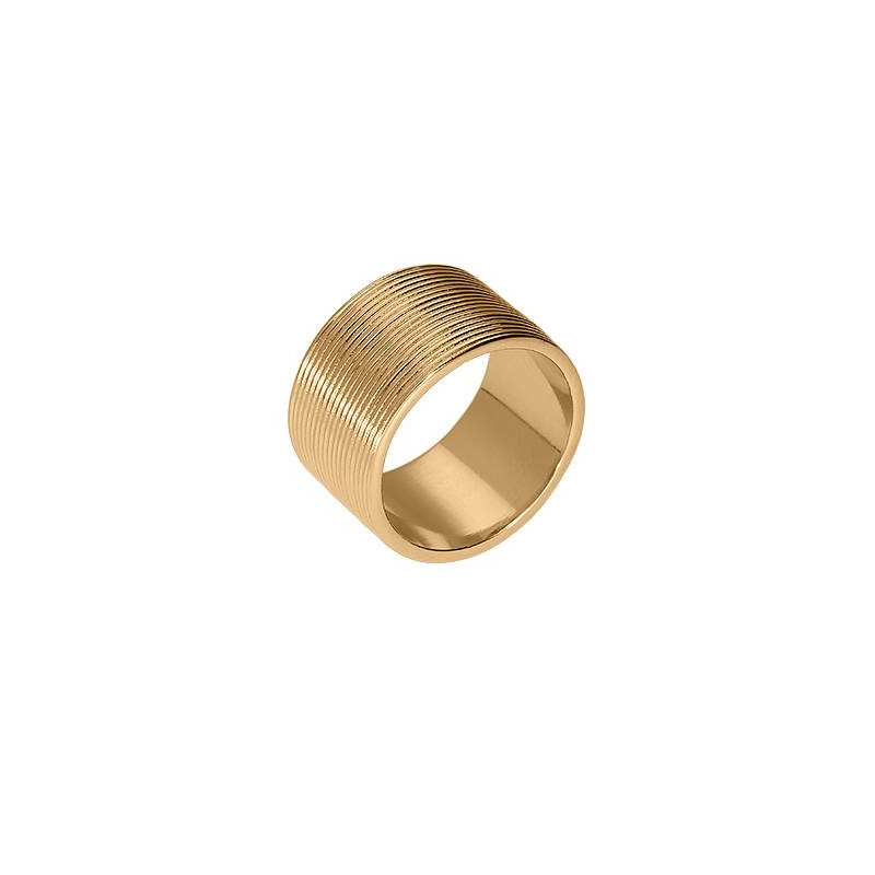 Large striated ring