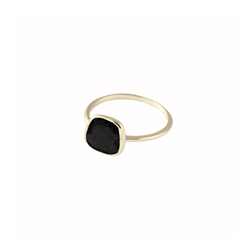 Medium trapeze gemstone spinel ring