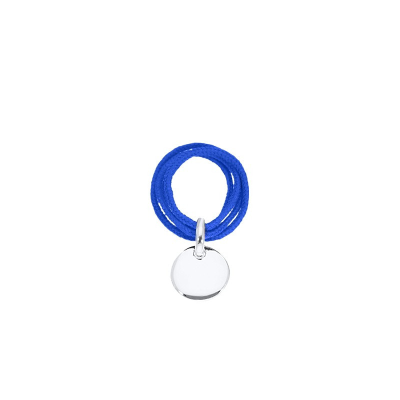 Multiple string ring with small medal for children