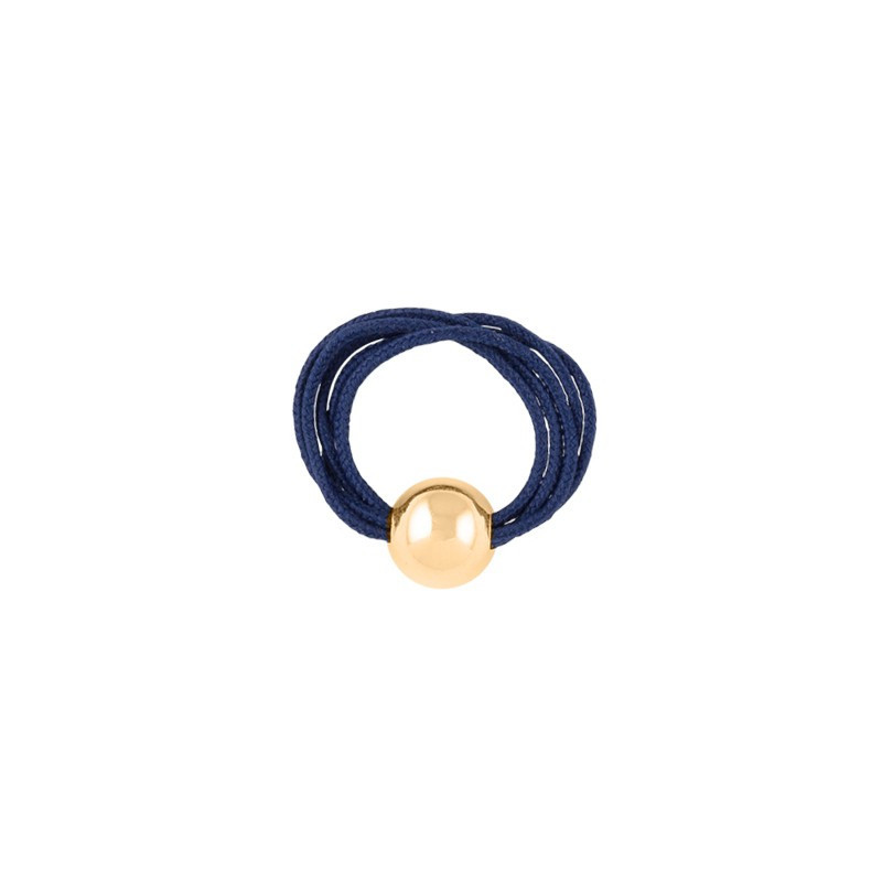Multiple string ring with bead