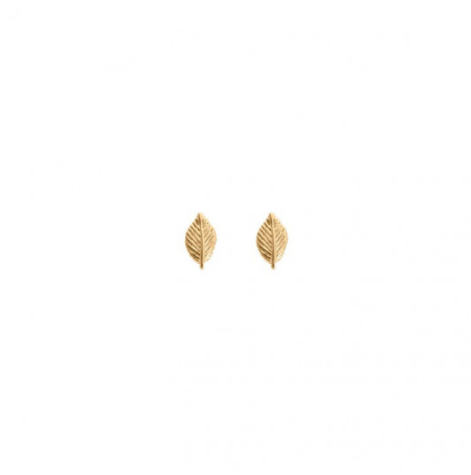 Mini leaves earrings