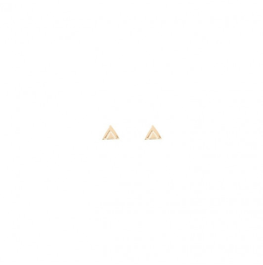 Small ethnics triangles earrings