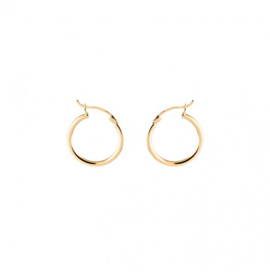 Hoop earrings with clasps 2.2 cm