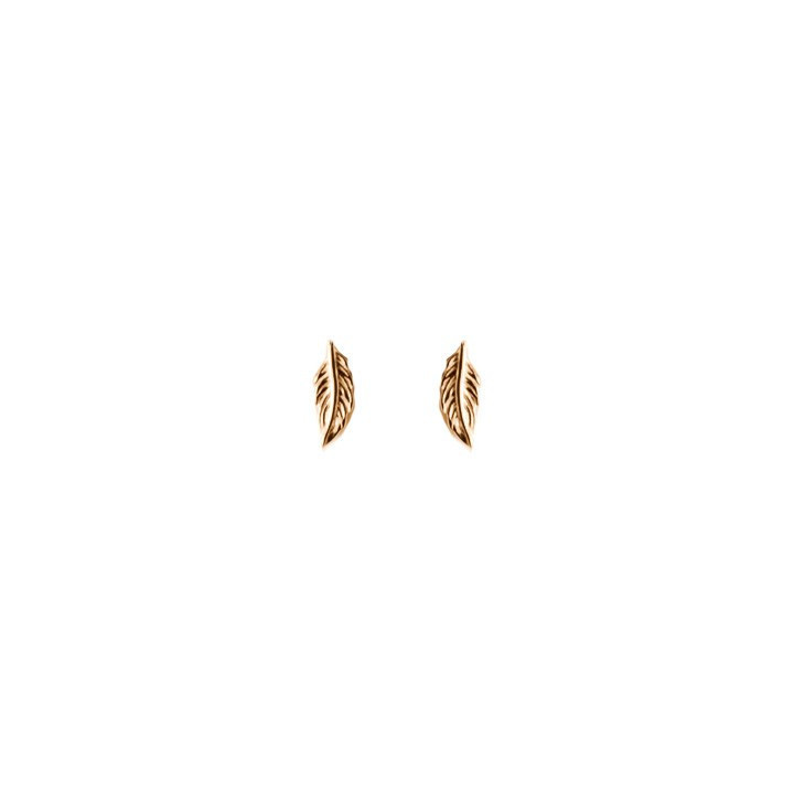 Feather earrings for children
