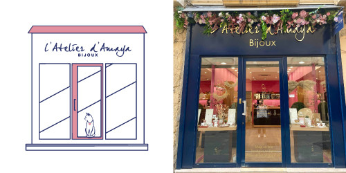 L'atelier d'Amaya - boutique Aix en Provence